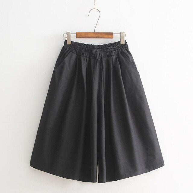 Korean Summer Slim loose shorts