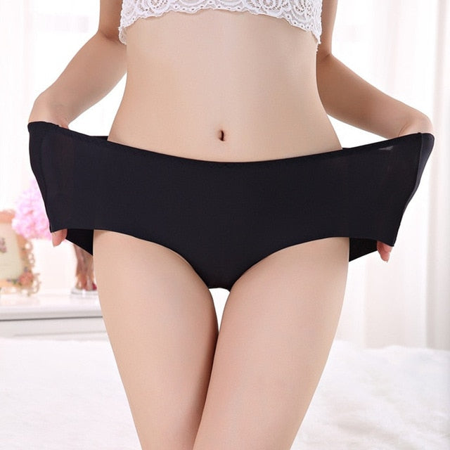 Women's briefs stretching Plus Size High waist Panties