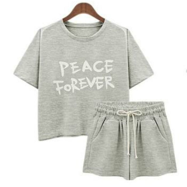 Sleepwear Lounge Wear Loose Casual Pajamas
