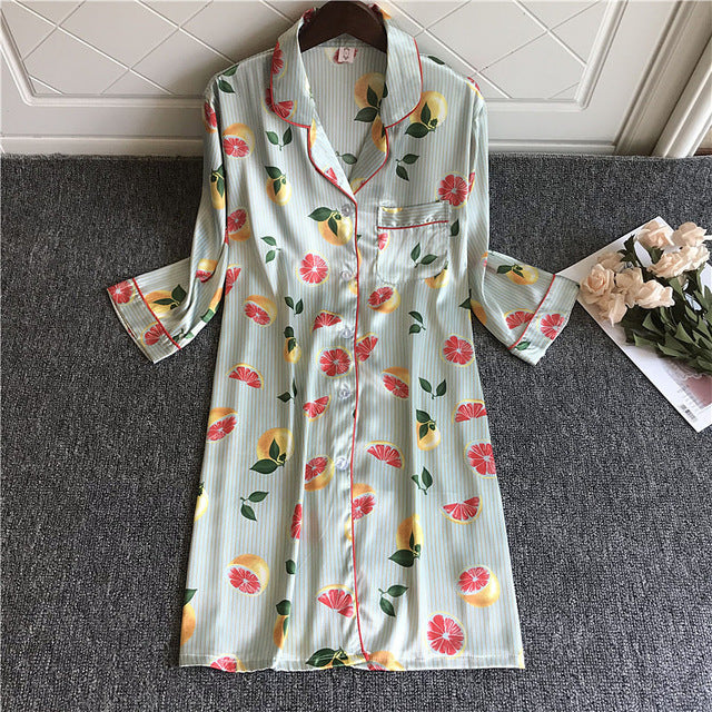 Silk Cute Nightshirts