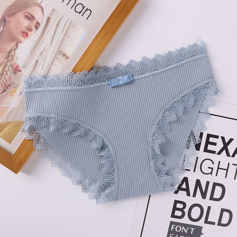 Cotton Low Waist Cute Women panties