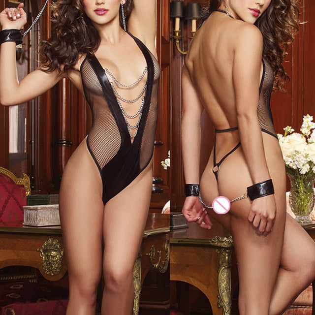 Women's Lace G-string Dress Lingerie