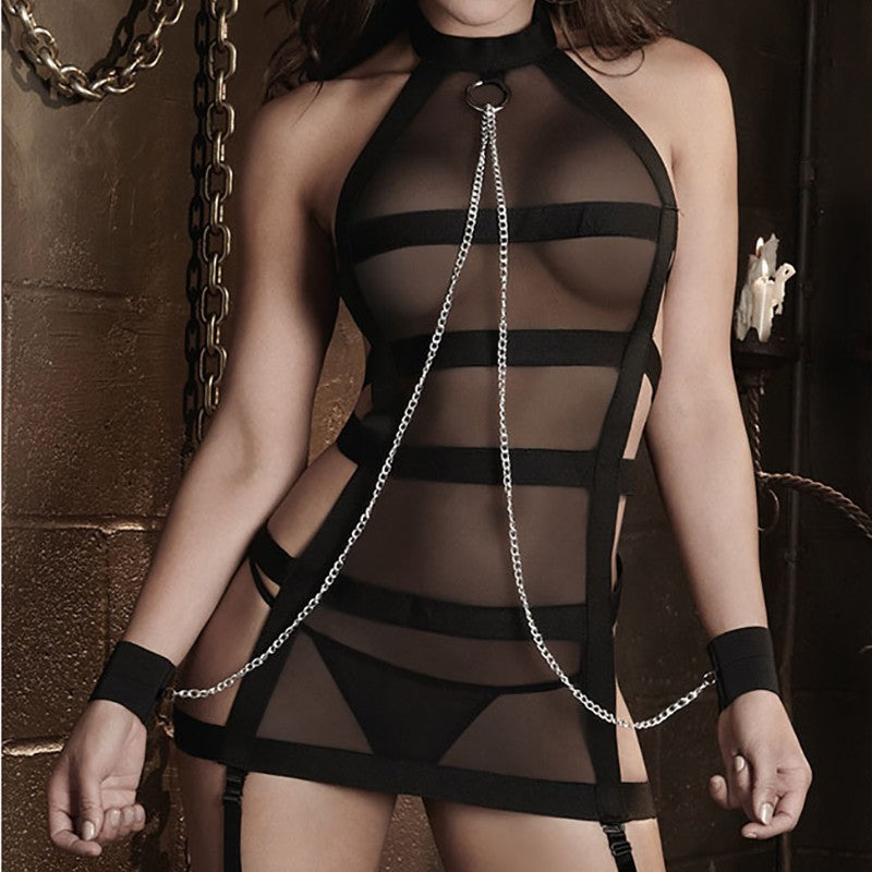 Sexy Lingerie Hot Porn Lace Handcuff Lingerie