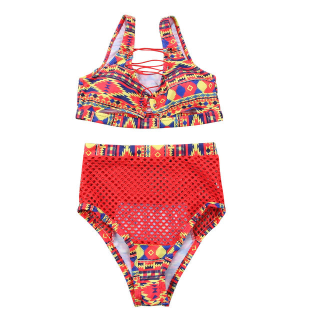 bikini set High waist