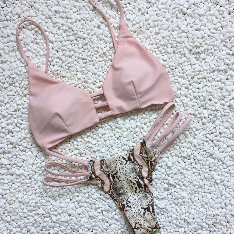 Sexy Hollow Out Bikini Set