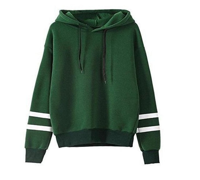 Casual Long Sleeve Hooded Pullover Sweatshirts