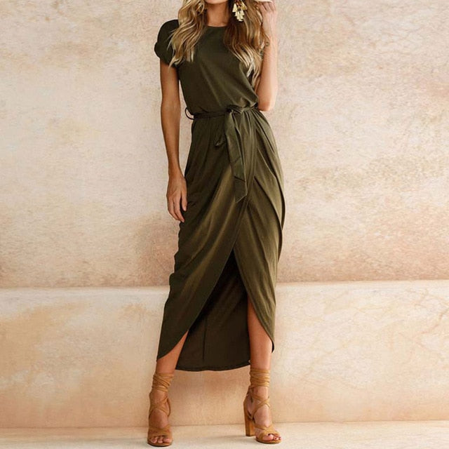 Casual Slim Elegant Long Maxi Dress