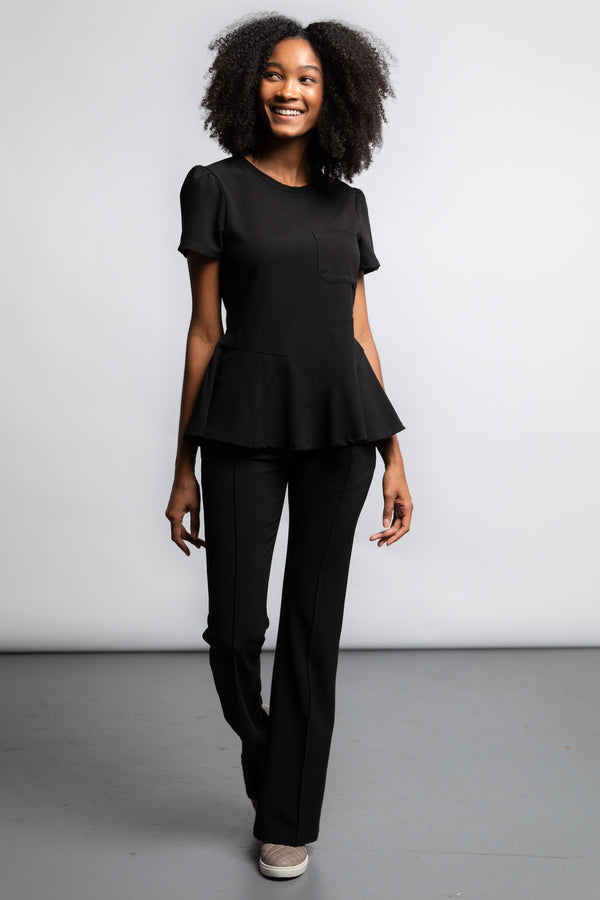 Peplum Top - swayscrubs