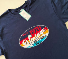 Load image into Gallery viewer, Birthday Tee: Vintage Retro
