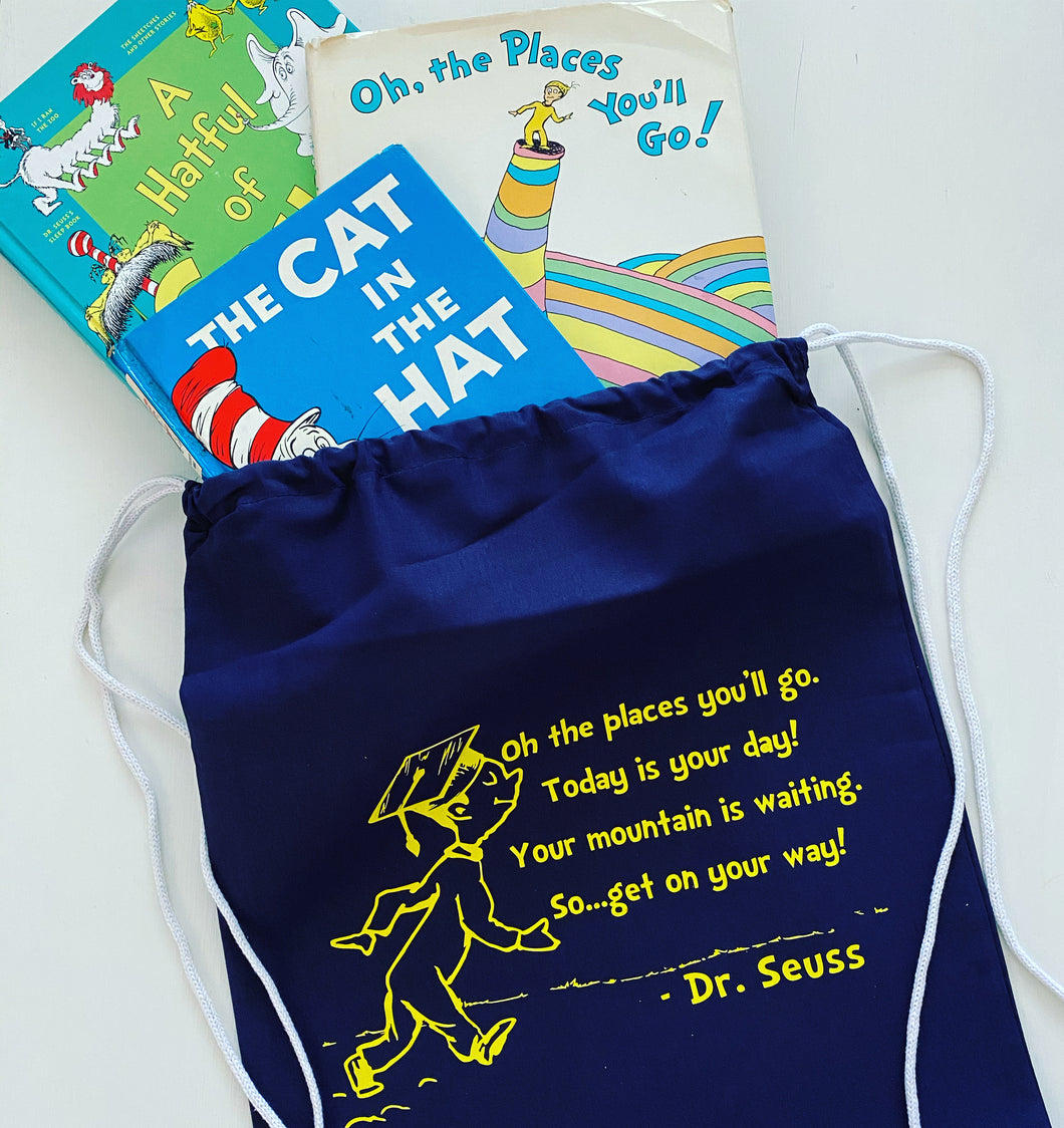 Drawstring Bag - Dr. Seuss