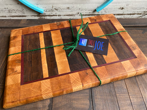 TLJ: End Grain Cutting Board