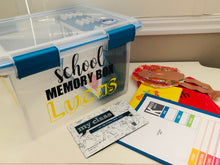 Load image into Gallery viewer, School Memory Box