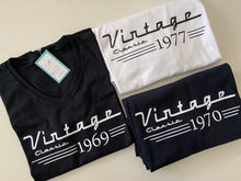 Load image into Gallery viewer, Birthday Tee: Vintage Classic