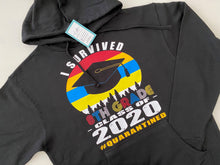 Load image into Gallery viewer, I Survived - Class of 2020 Hoodie