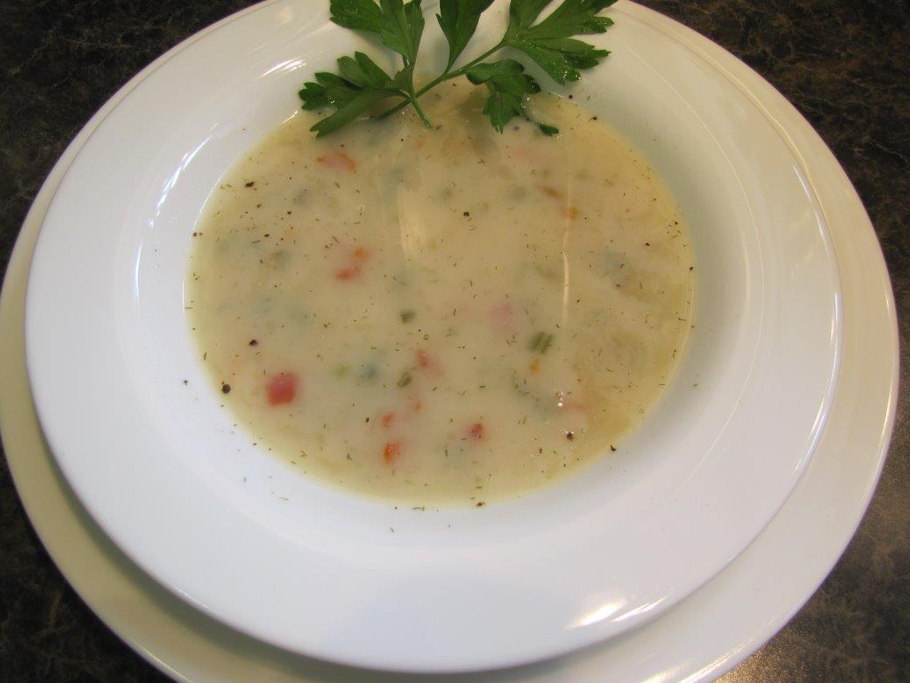 ENS: Potato & Herb Soup