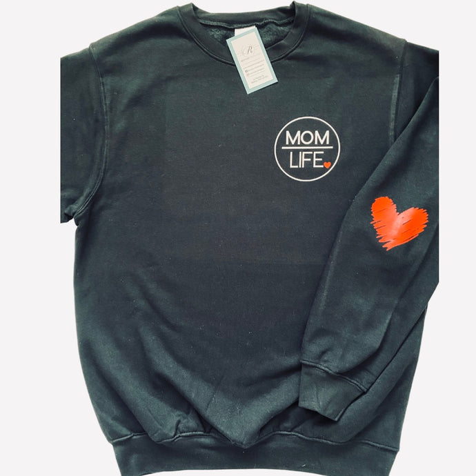 MOM LIFE Crewneck sweatshirt