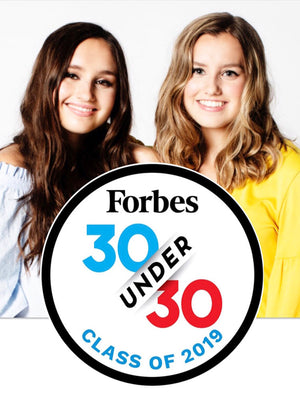 We're on Forbes' 30 Under 30 List!