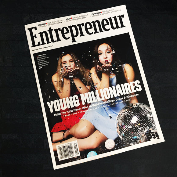 Thank you Entrepreneur Magazine! What an honor to be on the cover!