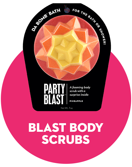 Icon for blast body scrub.