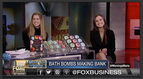 Teens' turn bath bombs into multi-million dollar business