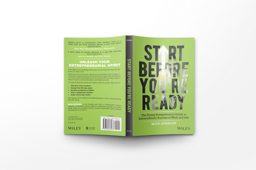 Signed Copy - Start Before You're Ready Book