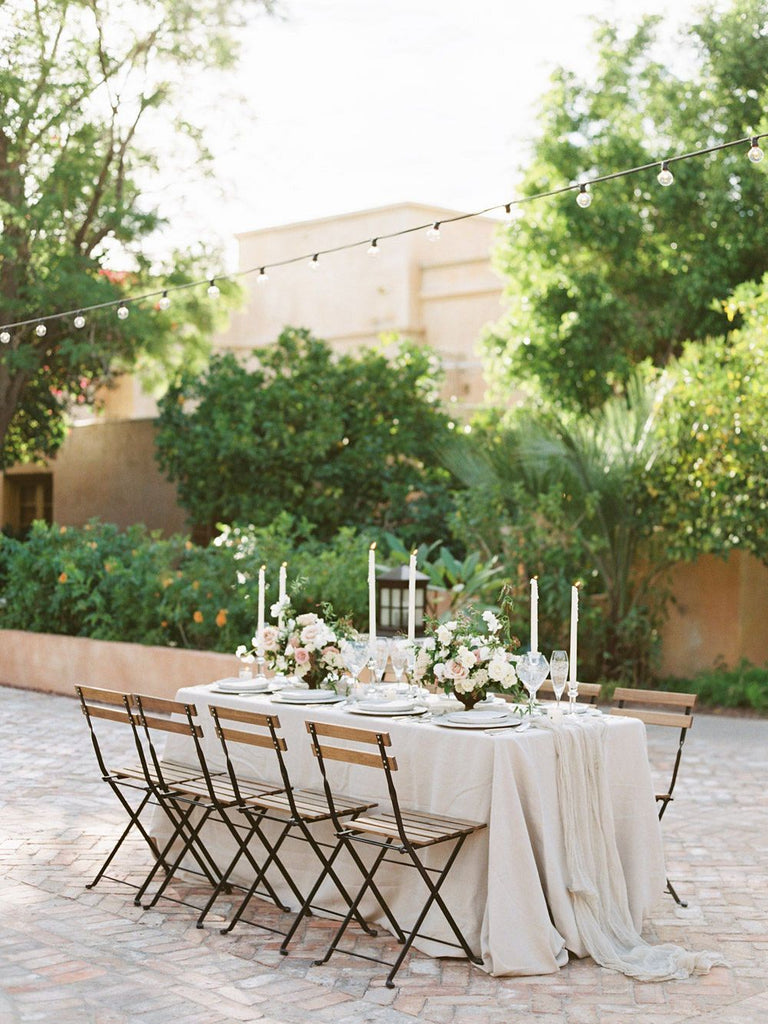 WEDDING SPARROW / Desert inspired wedding ideas with Blush Roses & European influences
