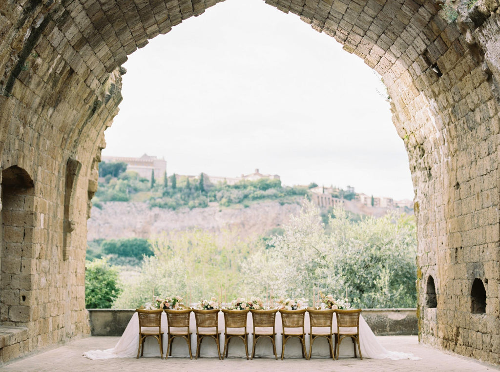 STYLE ME PRETTY / We Found the Best Spot in Italy for an Old-World Wedding Vibe
