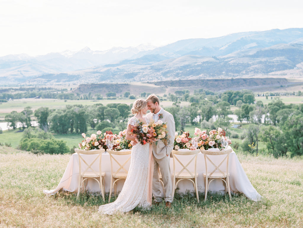 MAGNOLIA ROUGE | COLOURFUL PARADISE VALLEY MONTANA WEDDING EDITORIAL
