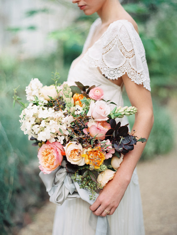RUFFLED // Greenhouse Romance Wedding Editorial