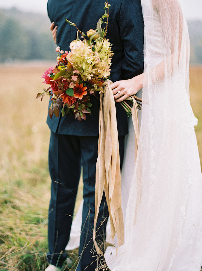 ONCE WED // Fall Elopement in the Catskills Mountains