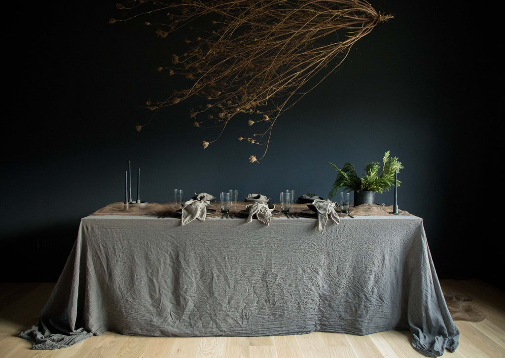 Setting A Natural Table / Fall & Winter
