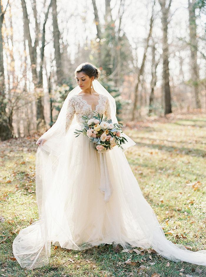 Adorable flower girl fashion inspiration once wed silk willow once wed shares a tender look at a beautiful bride and her adorable flower girls to see more flower girl fashion captured by laura gordon photography visit junglespirit Choice Image