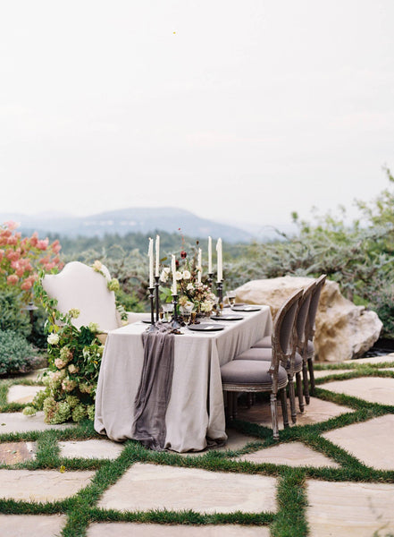 Silk & Willow Wedding Table Inspiration