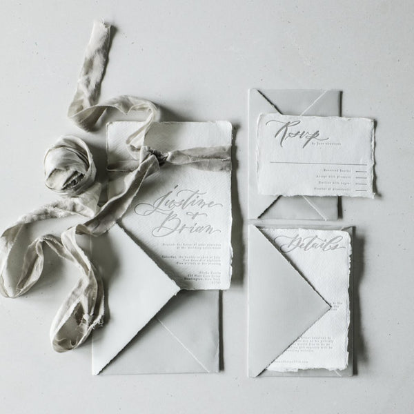 handmade envelopes, arpa envelopes, silk and willow