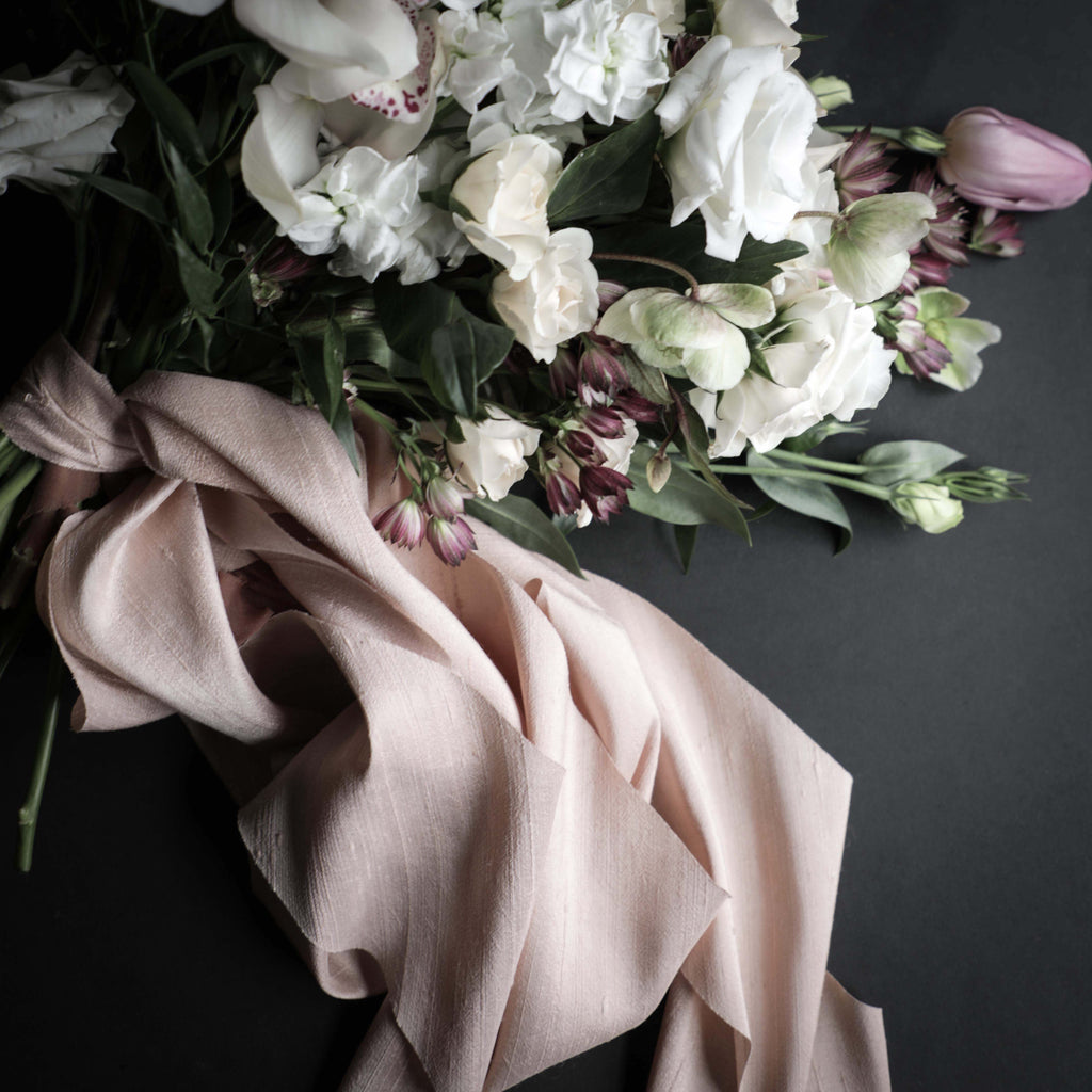 Blush {Dupioni Silk}