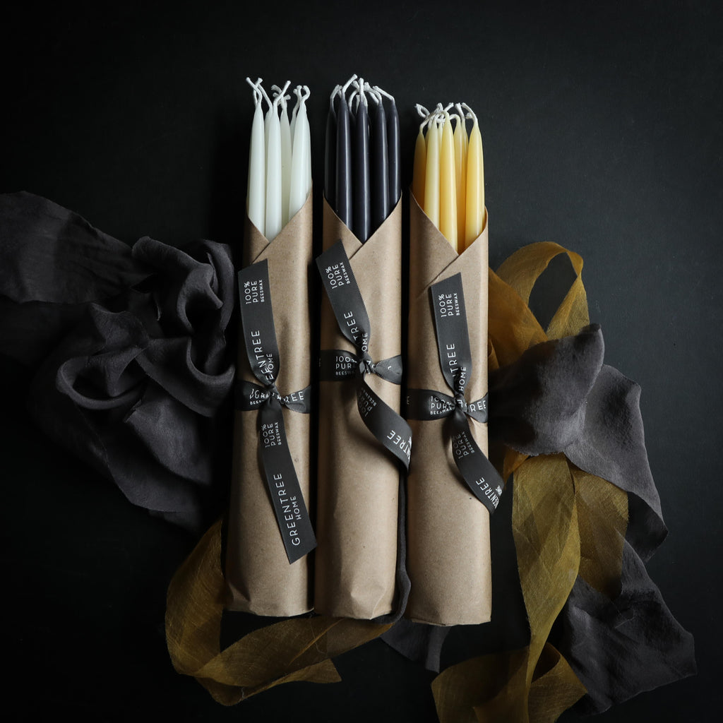 100% Beeswax Event Candles {Greentree Home}
