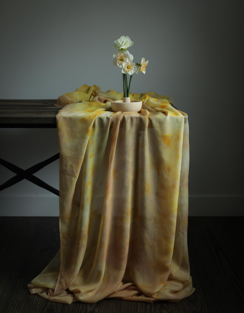 Botanical Print No. 4 {Sheer Silk Runner}
