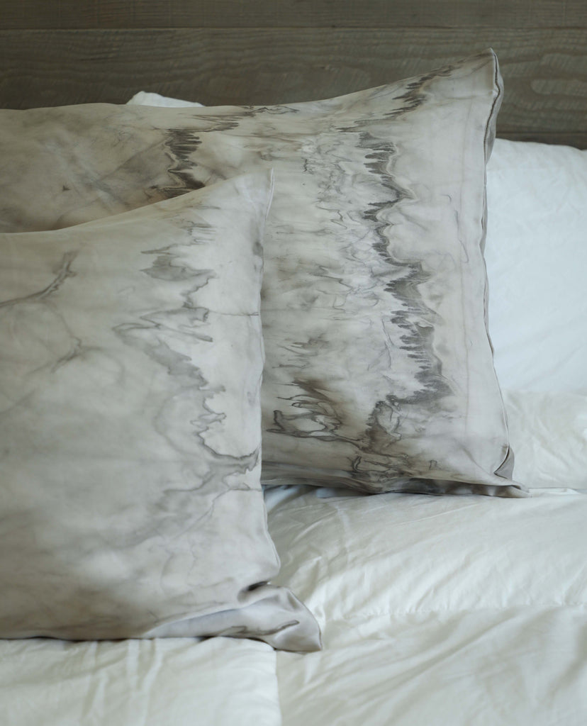 Botanical Dyed Silk Pillowcase