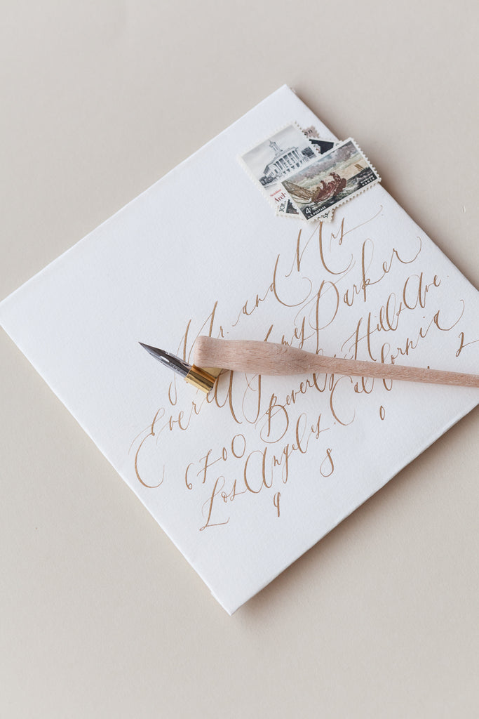 Dual Purpose Calligraphy Pen / Written Word Calligraphy
