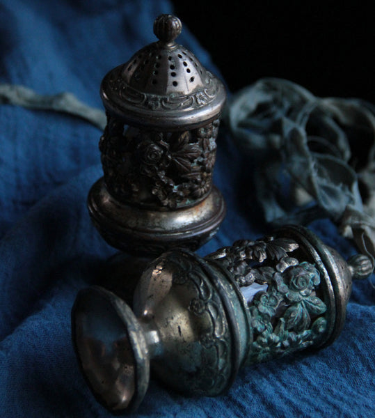 Victorian Style Salt & Pepper Shakers