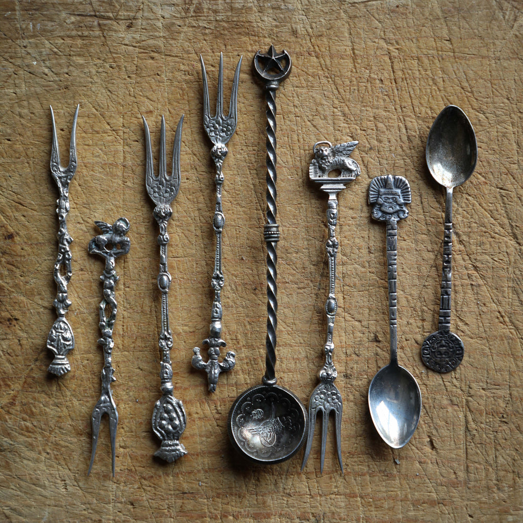 Antique Spoons & Forks