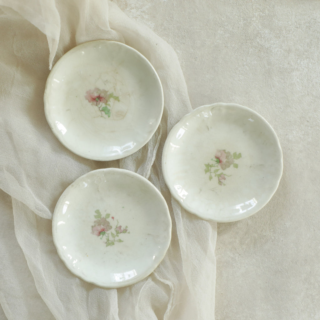Rose Salt Dish {Set of 3}