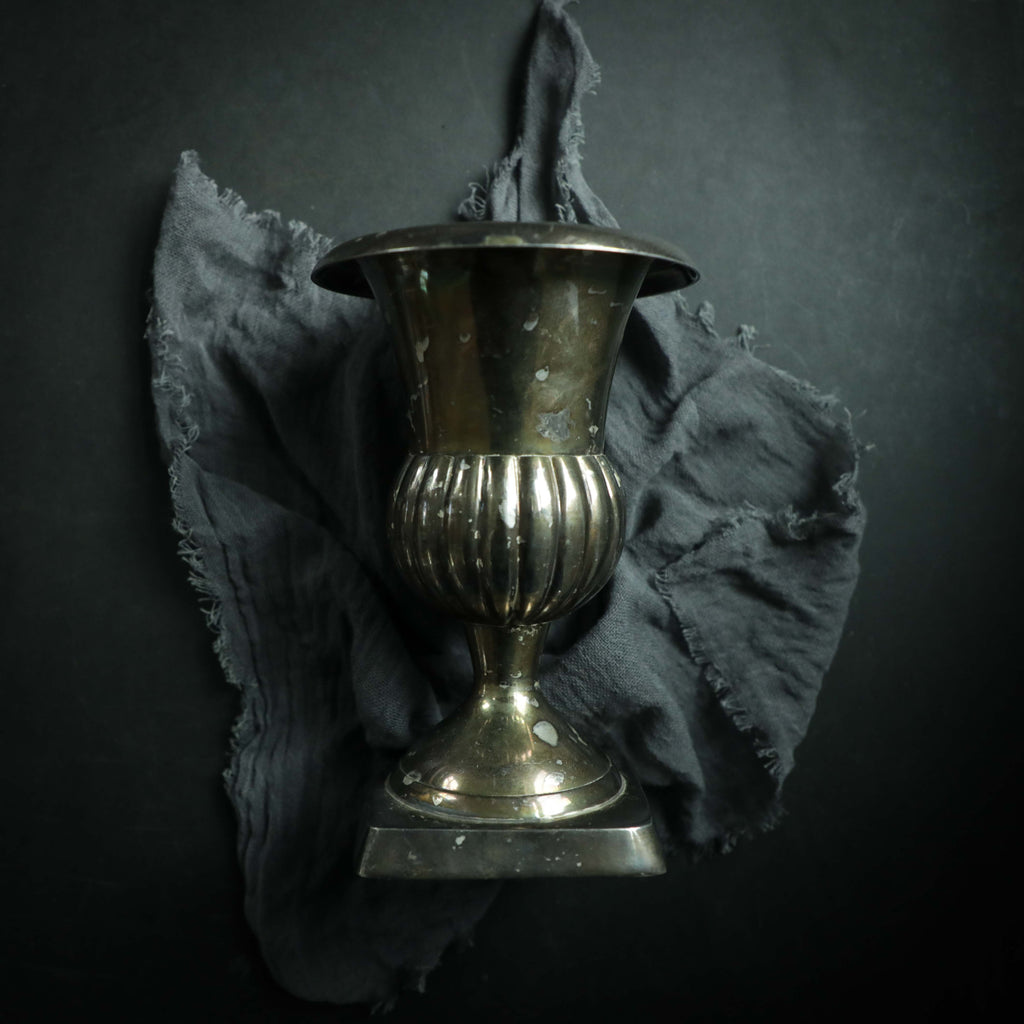 Neoclassical Silver Plated Urn