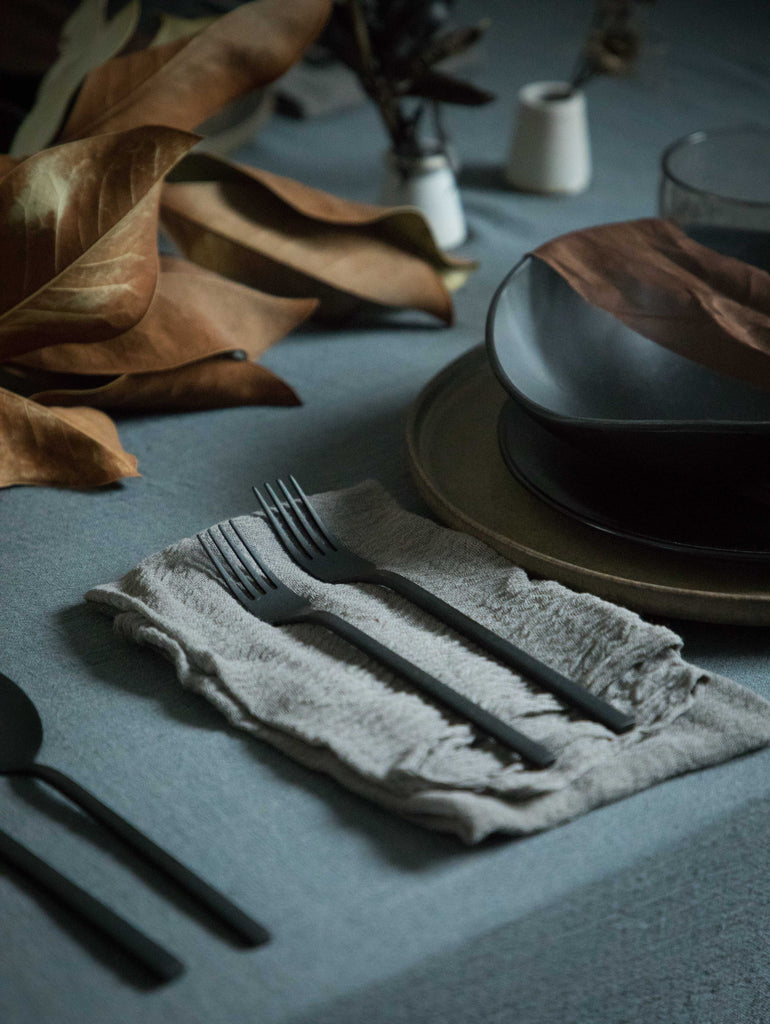 Blue Slate {Tight Weave Extra-Wide Table Cover}