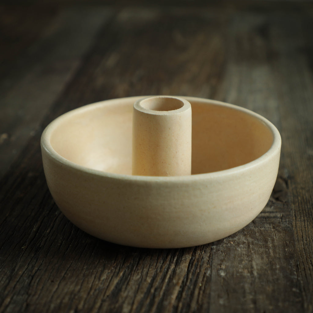 Ceramic Candle Bowl
