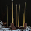** SALE ** CANDLE BLOCKS // WALNUT