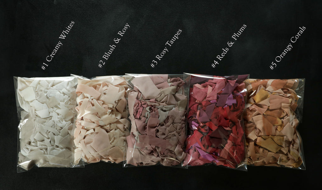 ribbon for weaving, weaving ribbon, plant dyed ribbon, color palettes, natural color