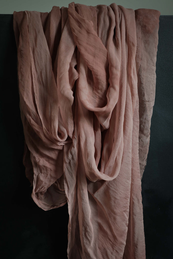 Dapple Rose {Sheer Silk Runner}