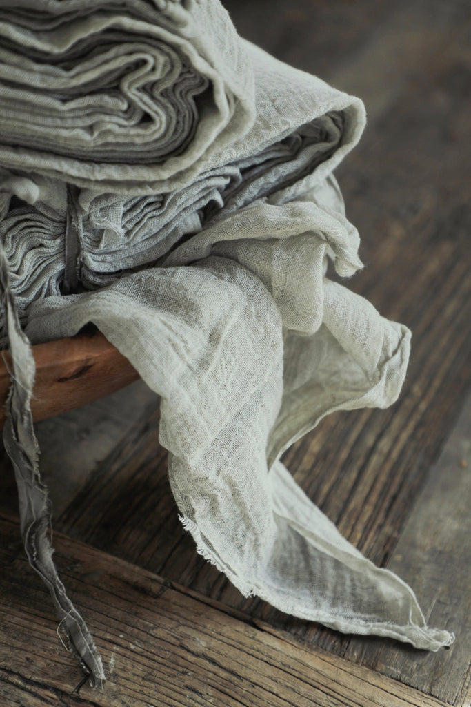 Dove Gray {Heirloom Weave Runner}