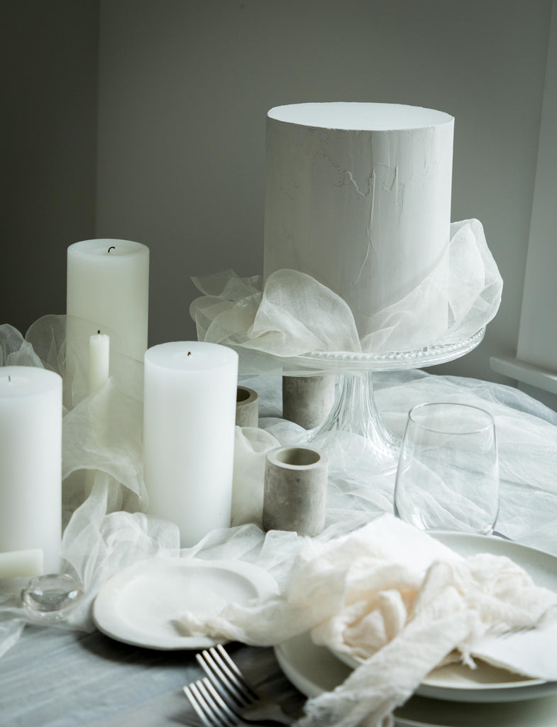 Natural White {Ethereal Silk Fabric}